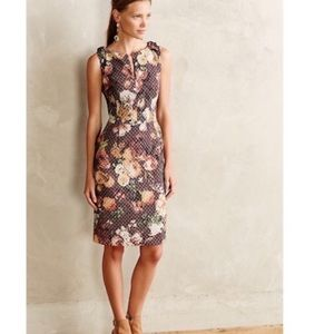 Tabitha Anthropologie quilted dress size 4